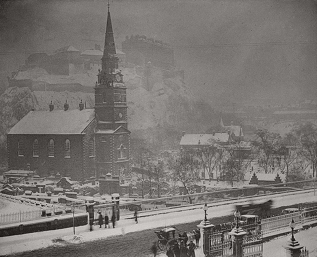 St Cuthbert's Church, Lothian Road, Edinburgh, 1882