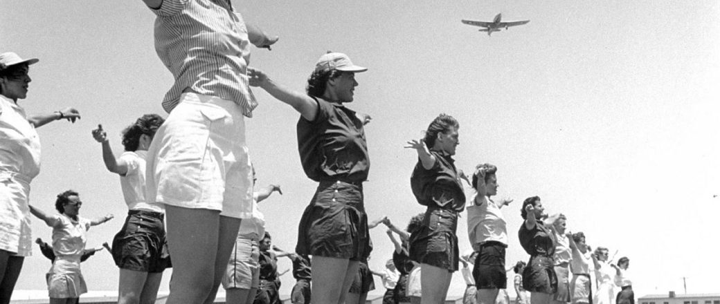 Vintage: Female Pilots Trained for Duty in Sweetwater, Texas during World War II