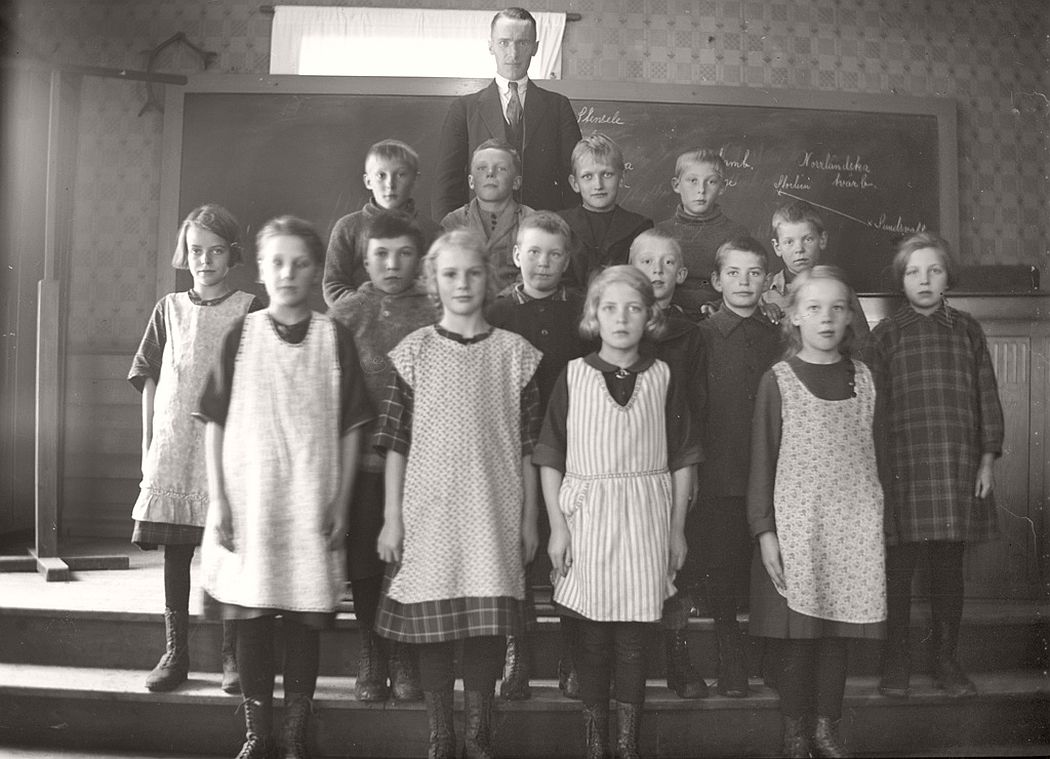 The elementary school, lower section in 1926.
