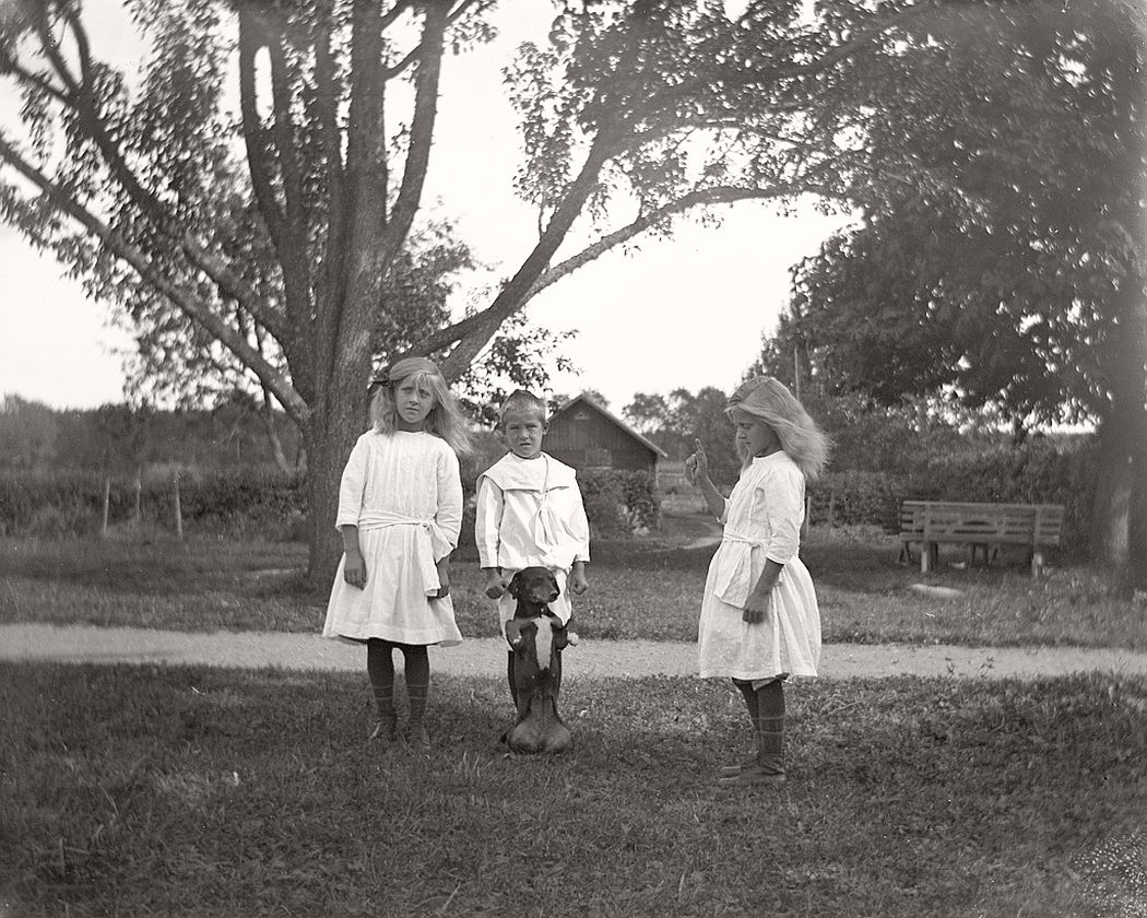 Children in Frinnaryd.
