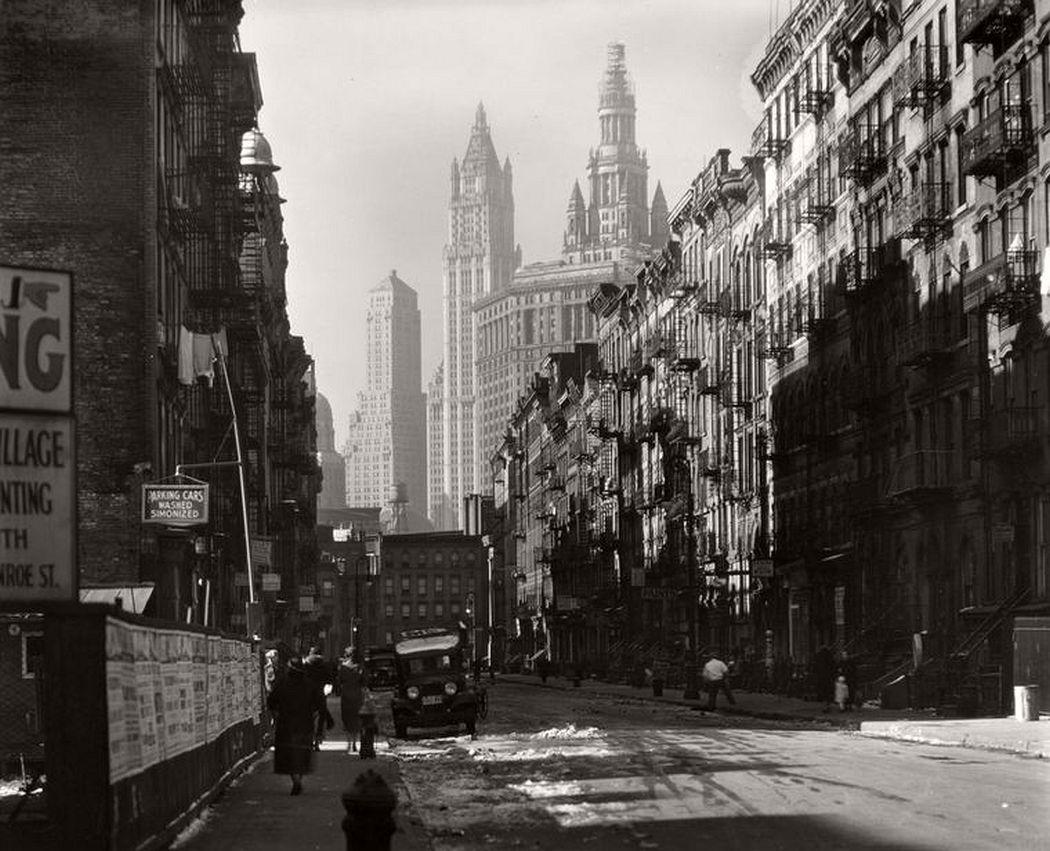 Henry Street, Manhattan, November 29, 1935