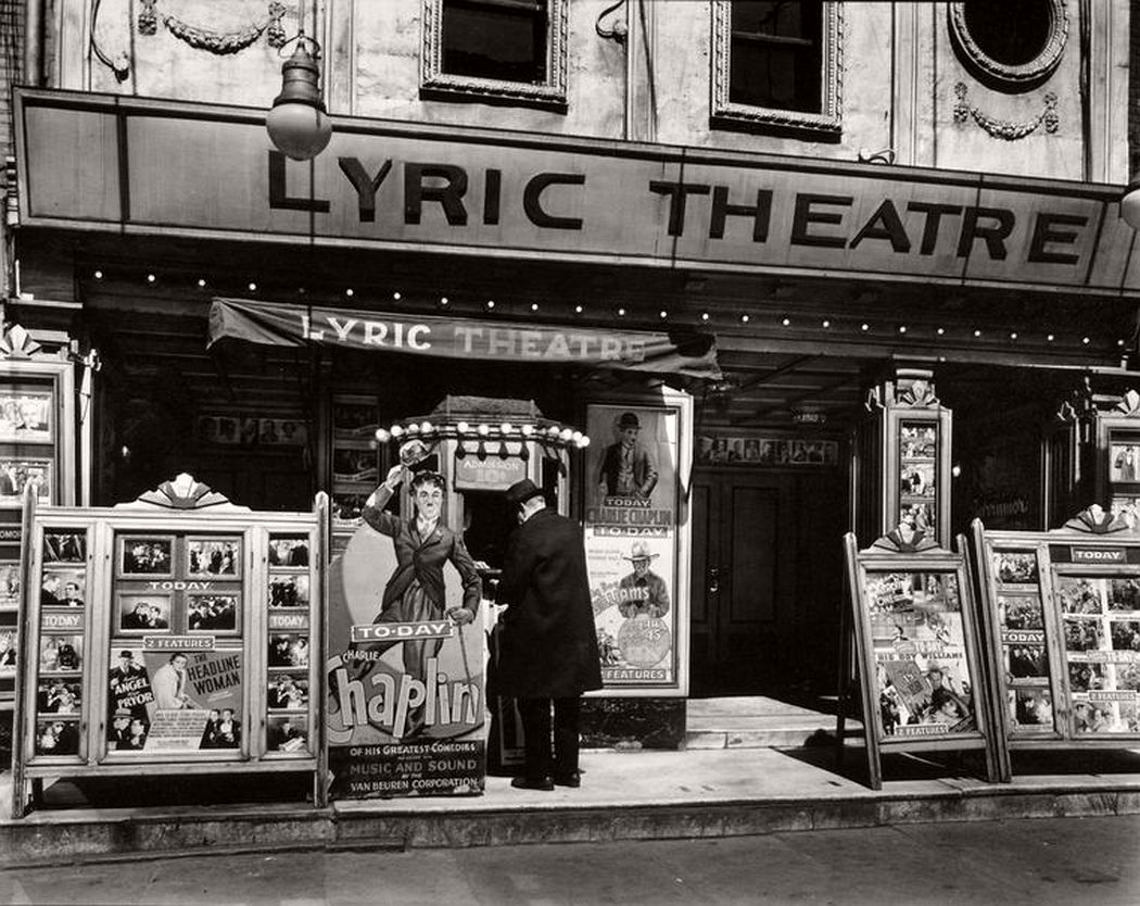 Lyric Theatre, Third Avenue between 12th and 13th street, April 24, 1936