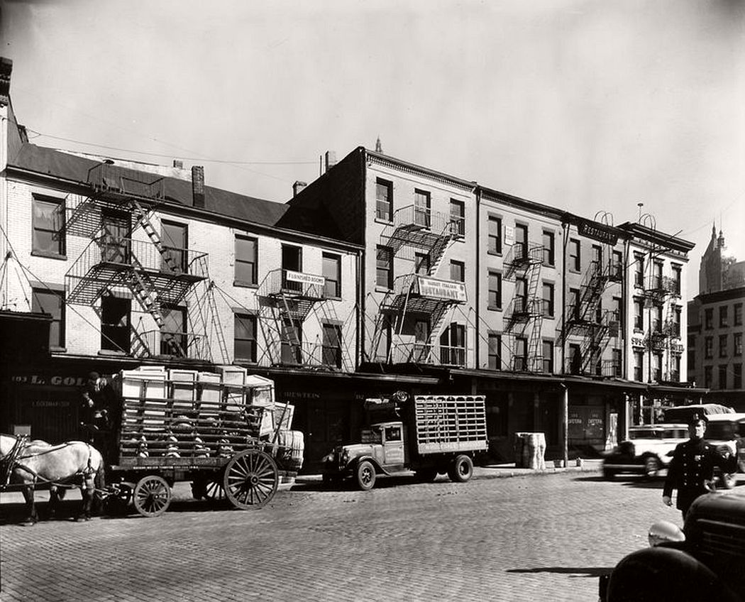 178-183 West Street, Manhattan, April 08, 1936