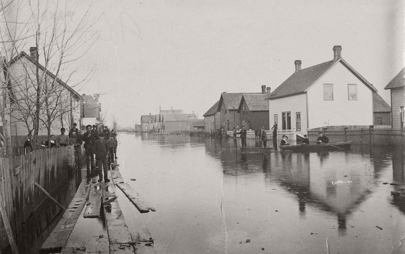 New Edinburgh flood, ca. 1890s