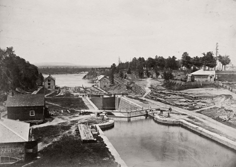 Entrance to the Rideau Canal, ca. 1890s