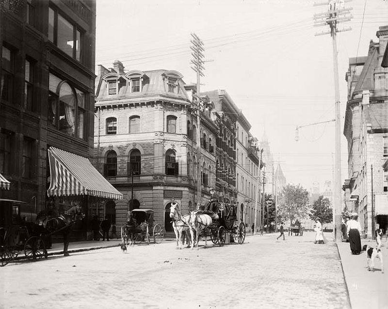 Metcalfe corner of Sparks, 1895
