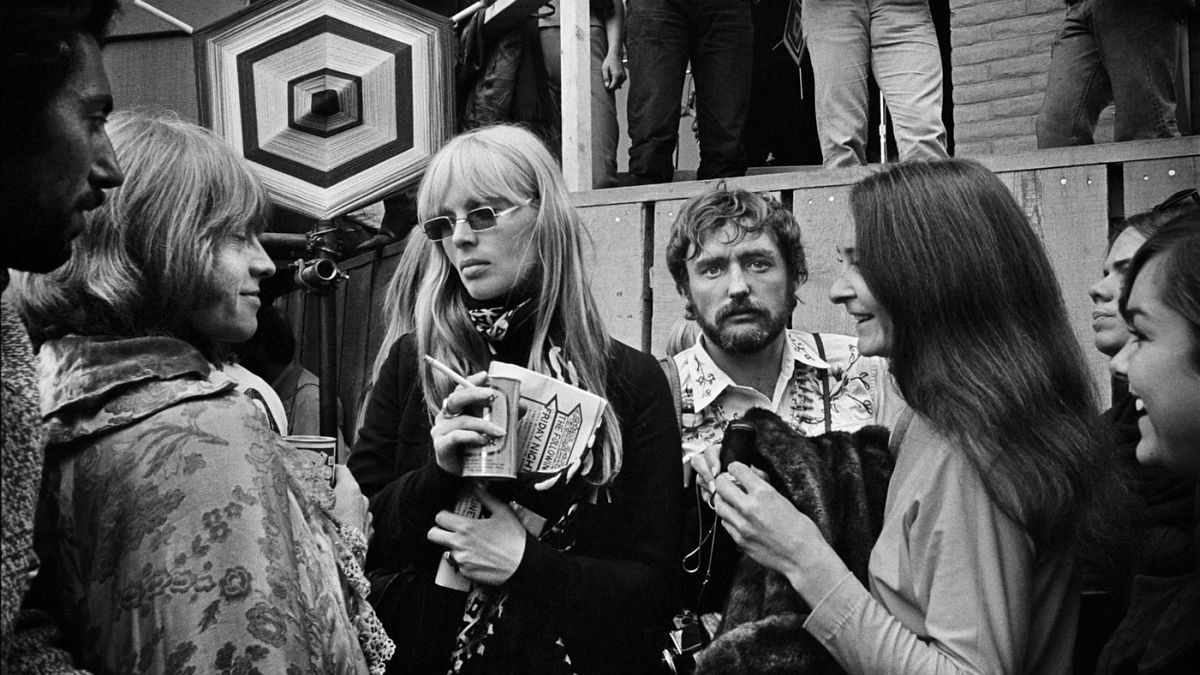 Brian Jones, Nico, Judy Collins and Dennis Hopper. Hopper based his character in Apocalypse Now on Marshall.