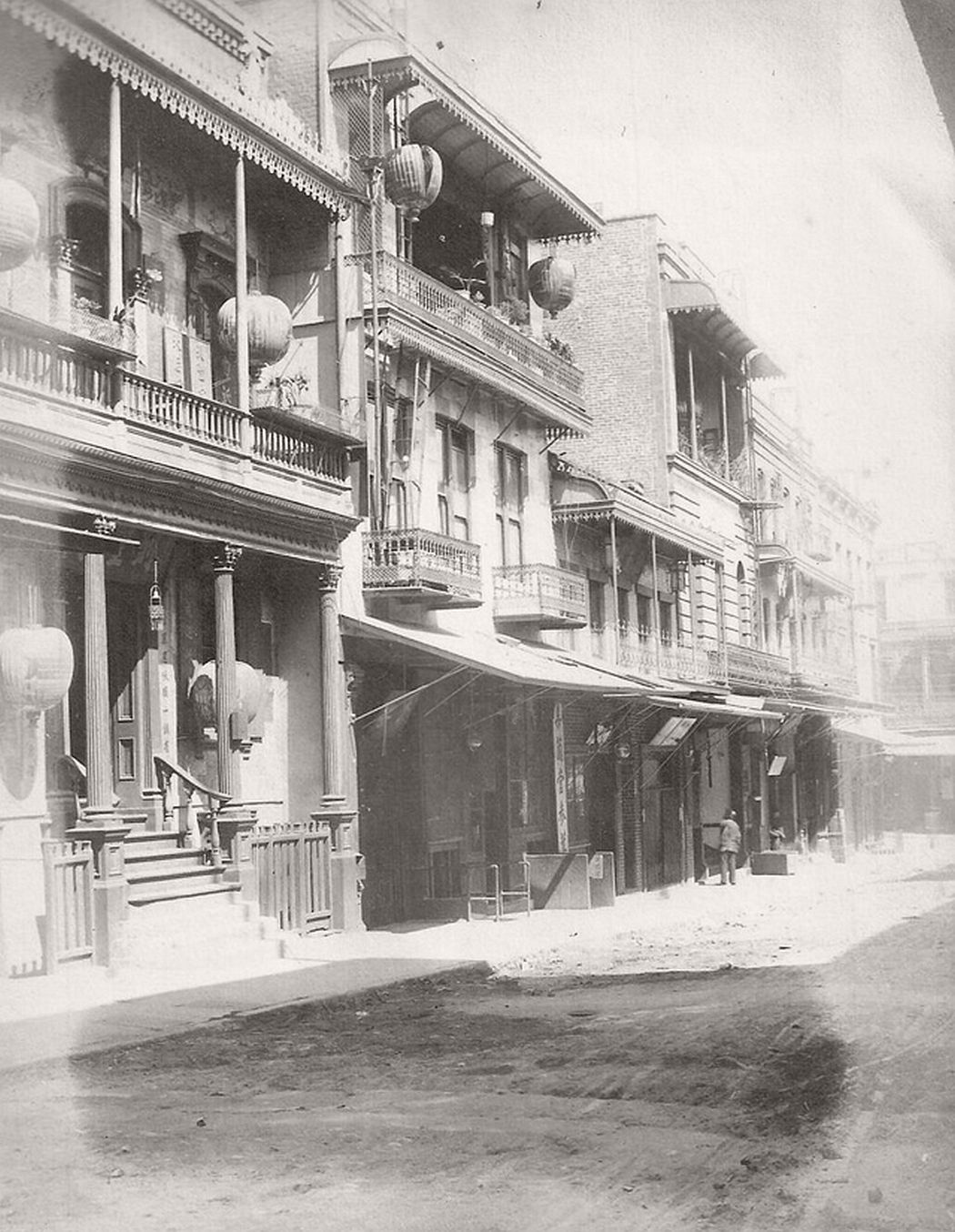 Chinatown in SF, Cal. around 1900