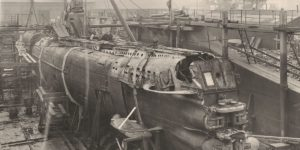 Vintage: The sinking and raising of U-Boat 110 (1918)