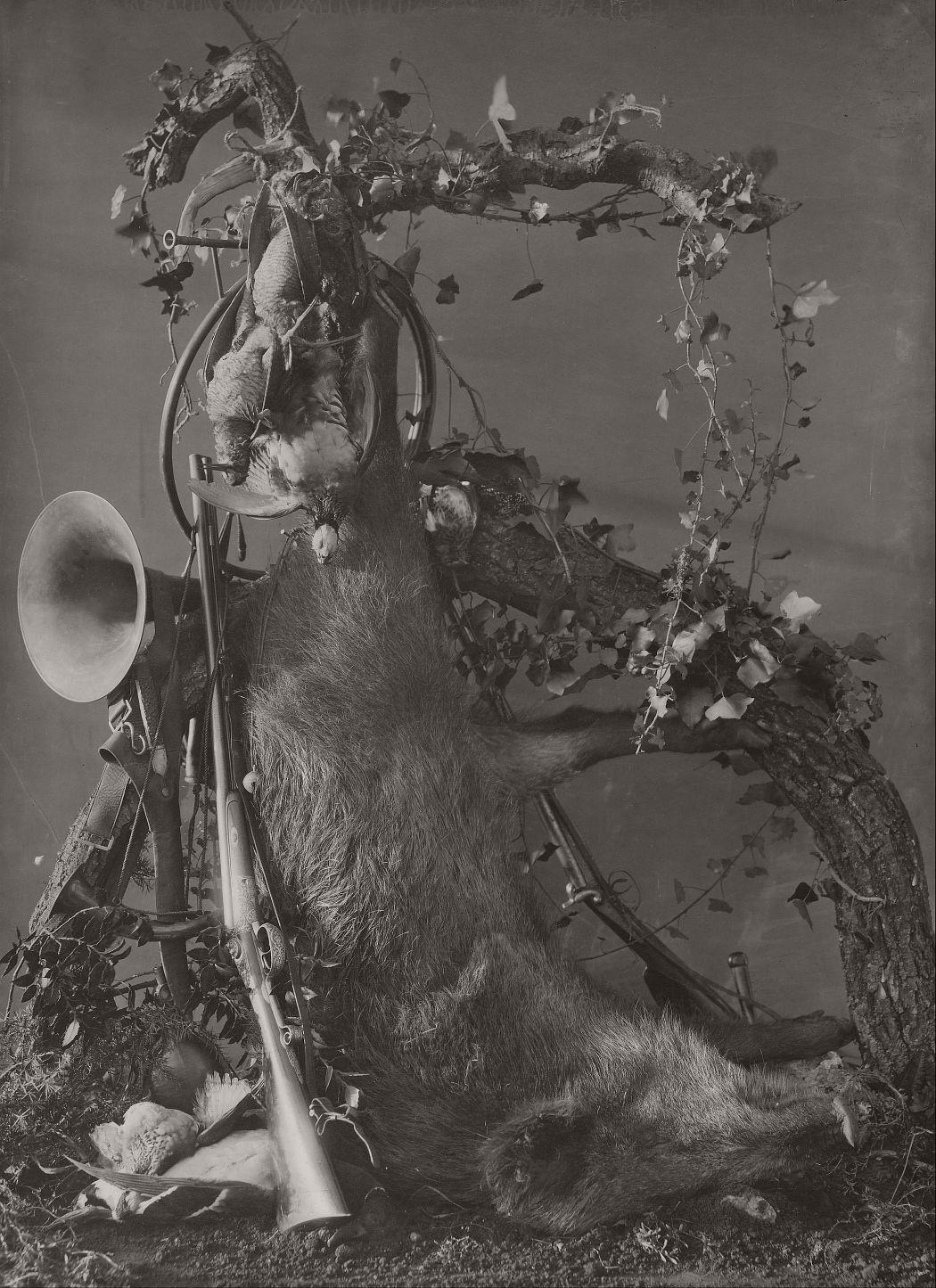 Still Life of a Hunting Scene, 1867.