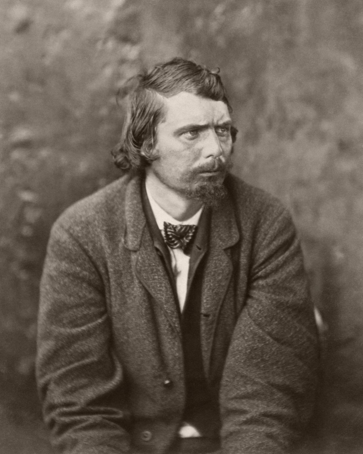 George Atzerodt, conspirator to assassination, after arrest, 1865.