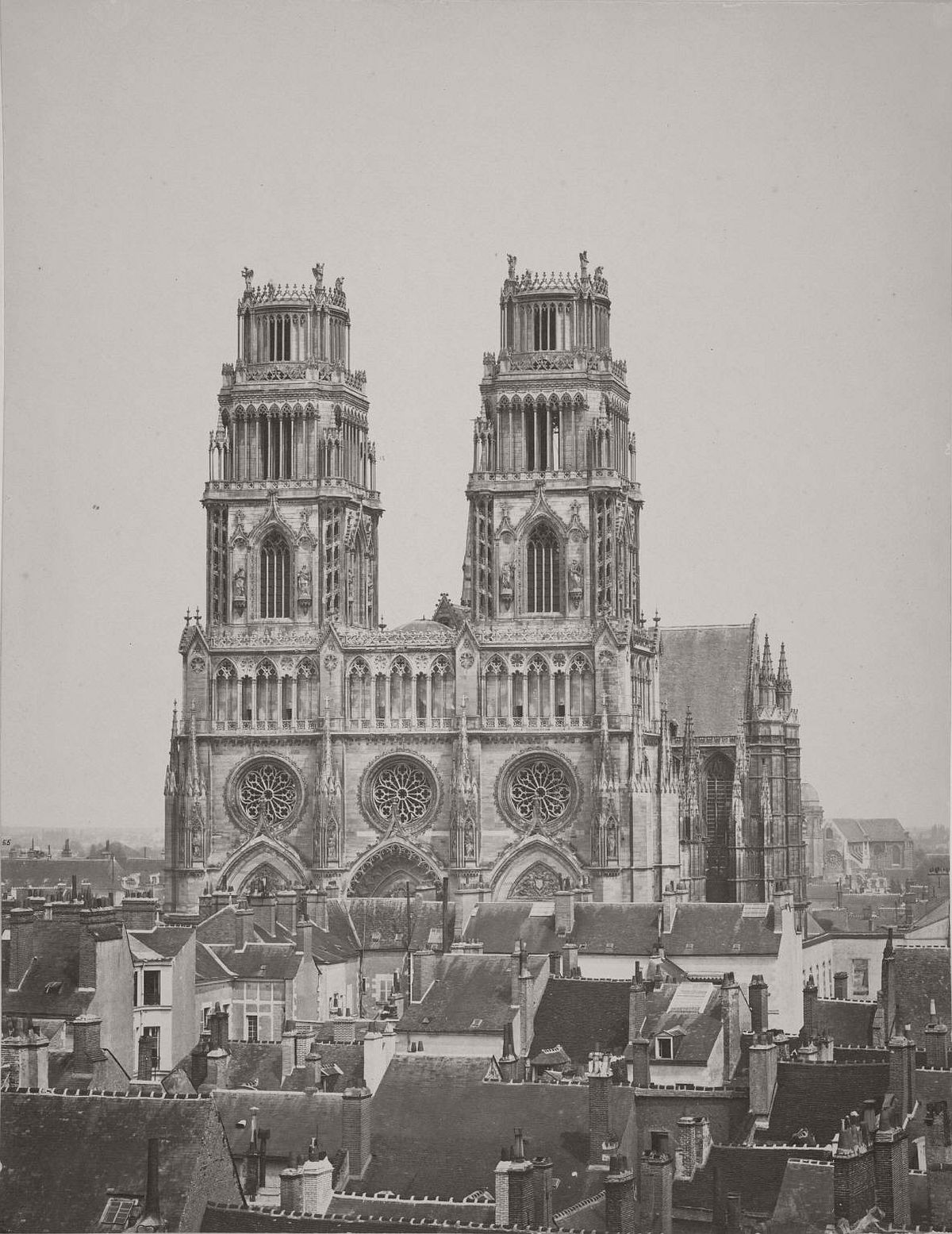 Orléans Cathedral, 1857.