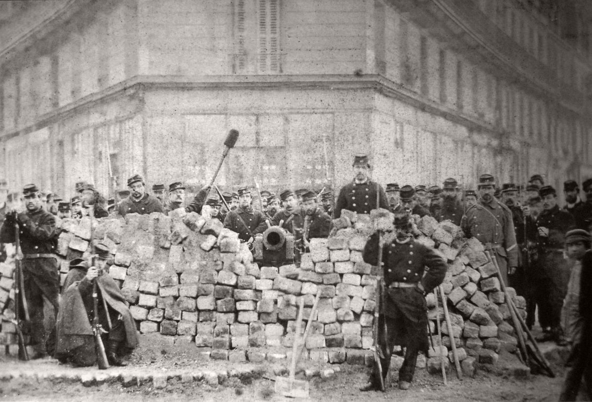 Commune de Paris, 1871.