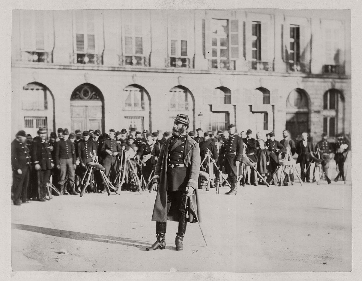 Commander of the Place Vendôme under the Commune, 1871.