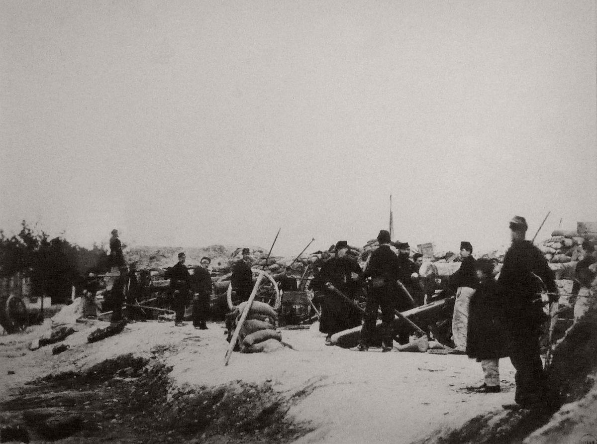 Porte Maillot, 14 May, 1871.