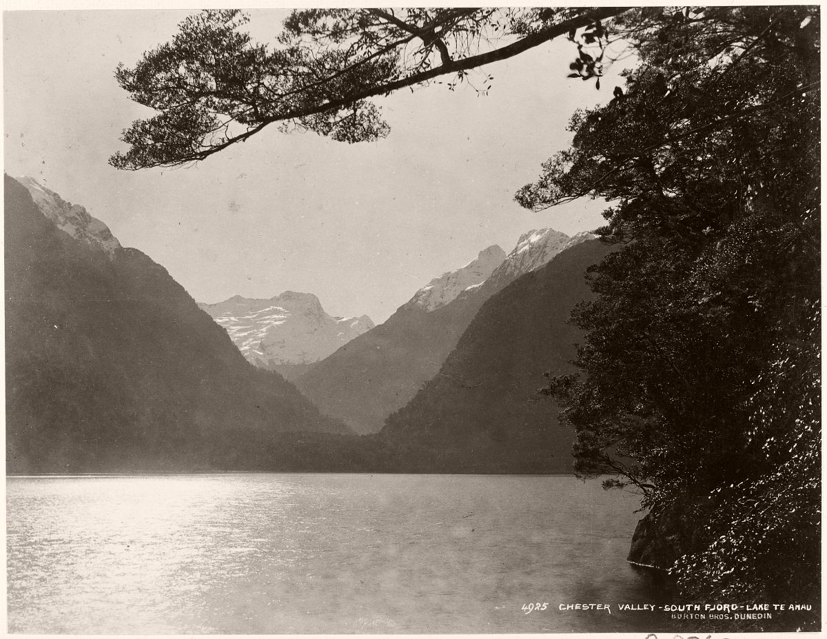 Chester Valley, South Fiord, Lake Te Anau