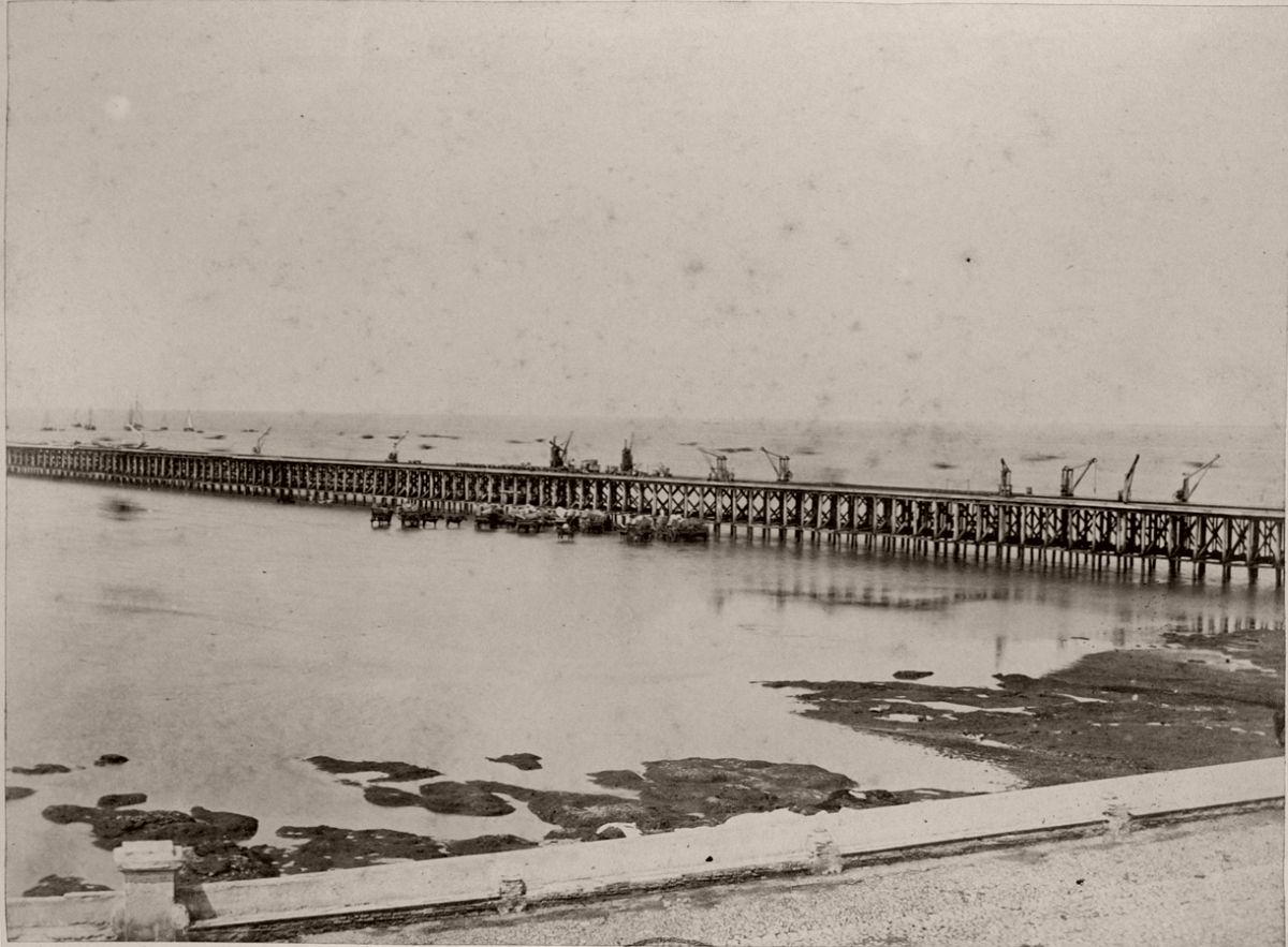 Muelle de la Aduana Nueva (1864)