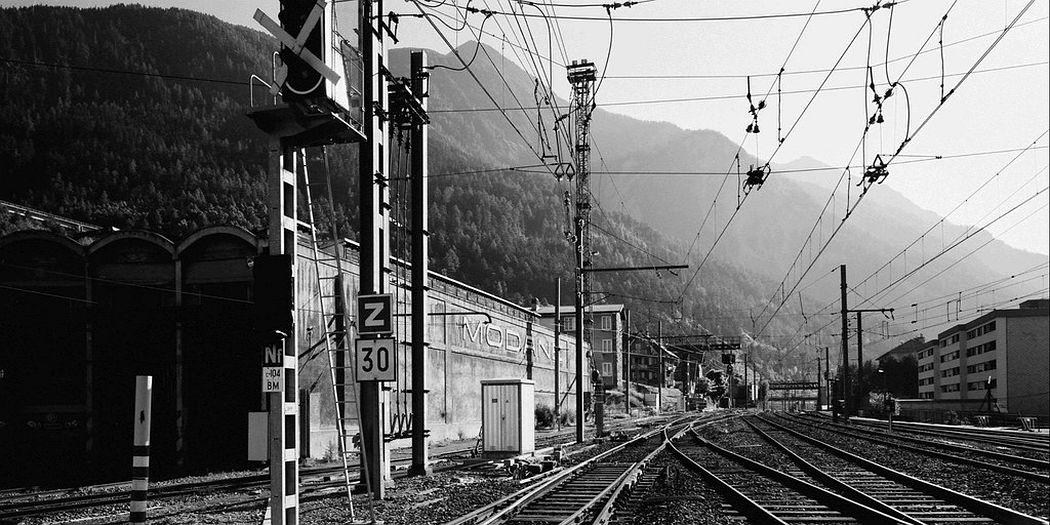 Gabriele Basilico  Modane Train Station, 1993