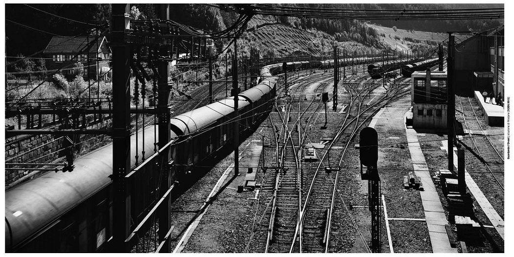 Gabriele Basilico  Modane's train station , 1993