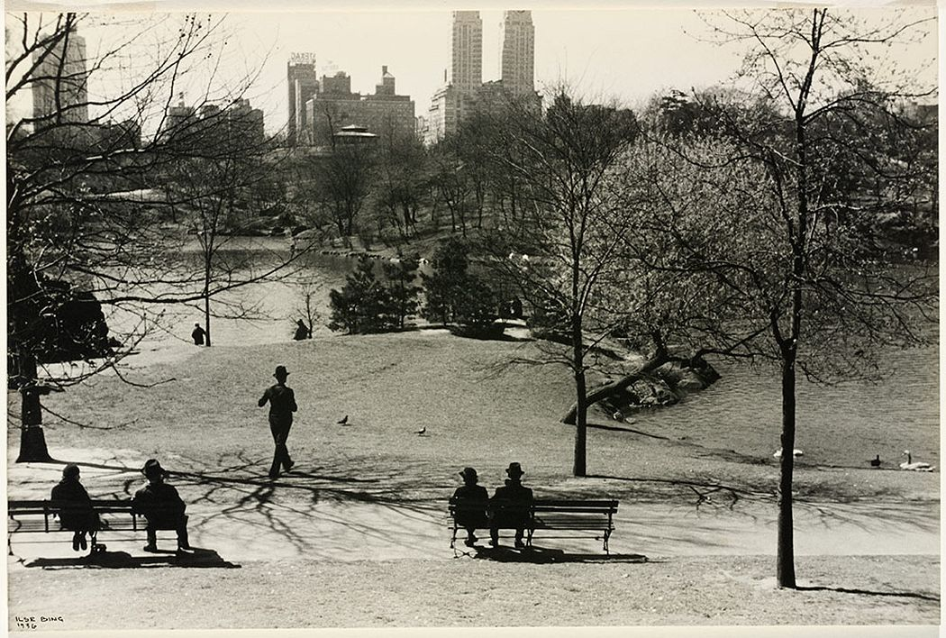Central Park, 1936 © Victoria and Albert Museum, London/Estate of Ilse Bing, courtesy Michael Mattis