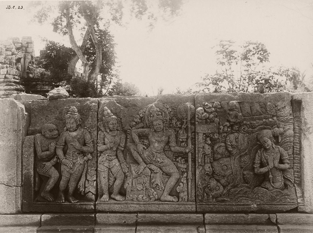 Tjandi Prambanan, 1889