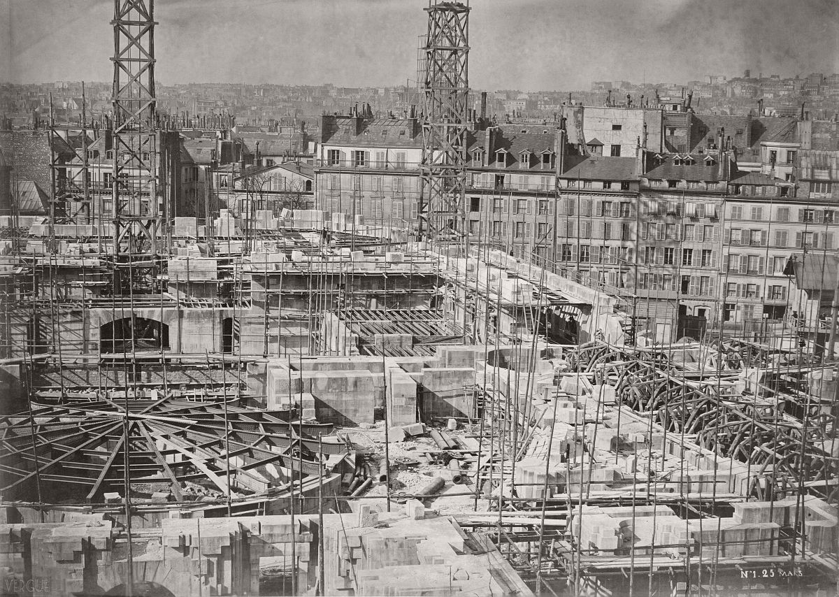 Opéra Garnier, Paris, France. May 1864.