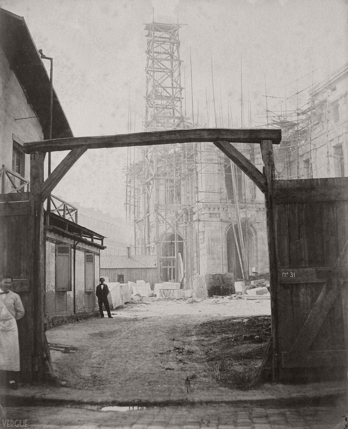 Pavillon des abonnés of the Opéra Garnier, Paris, France. 10 May 1865.
