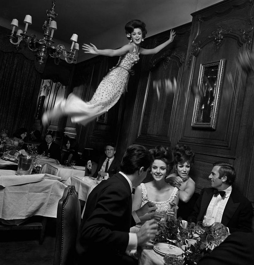 Melvin Sokolsky  Side Kick, Paris, 1965