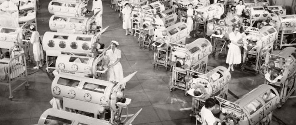 Vintage: Iron Lungs for Polio Victims (1930s-1950s)