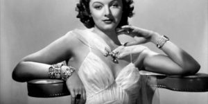 Vintage: Portraits of Myrna Loy (1930s and 1940s)