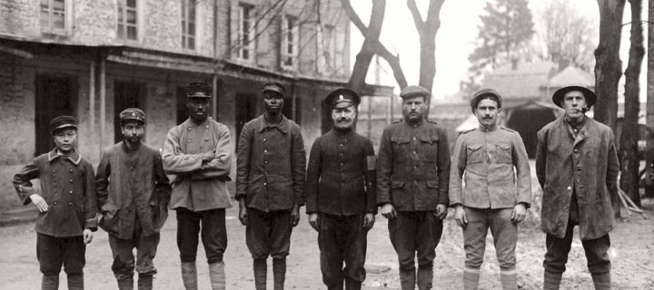 Vintage: Soldiers during World War I (1914-1918)