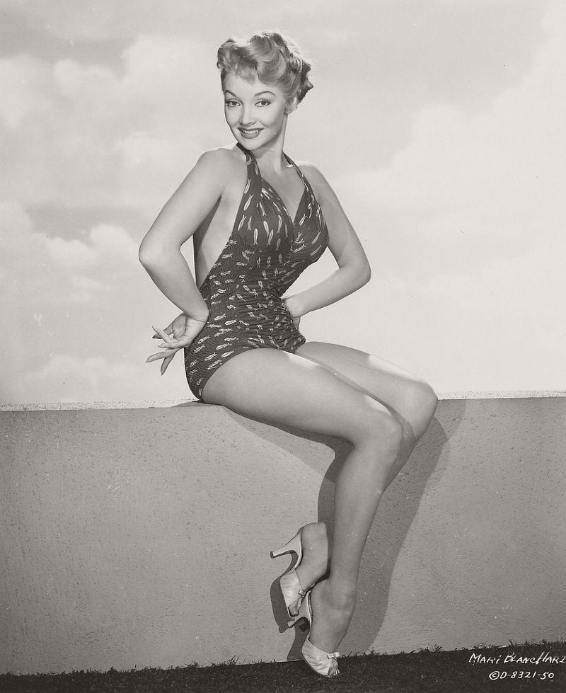 Mari Blanchard - c. 1955