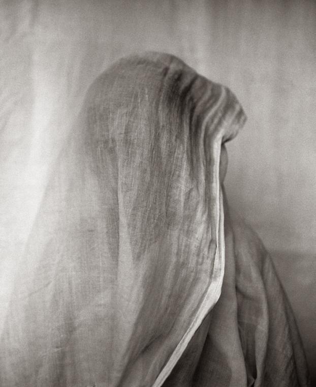 """Fazal Sheikh, Neela Dey (""""Sapphire""""), Vrindavan, India, 2005, from the series Moshka. © Fazal Sheikh"""