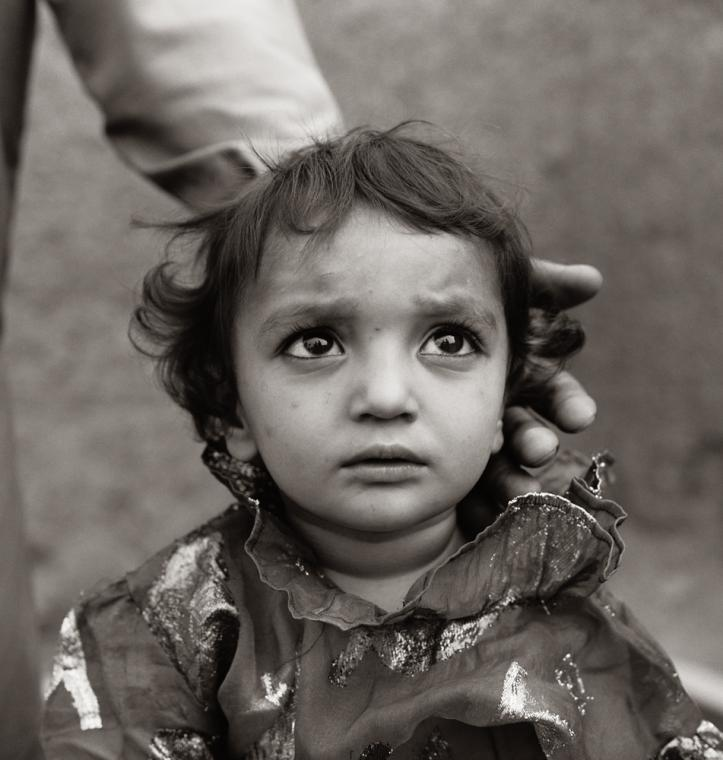 Fazal Sheikh, Afghan girl born in exile, Pakistan, 1998, from the series The Victor Weeps. © Fazal Sheikh