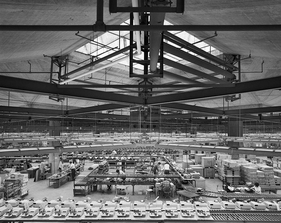 Olivetti Underwood Factory, Louis Kahn, Harrisburg, PA, 1969