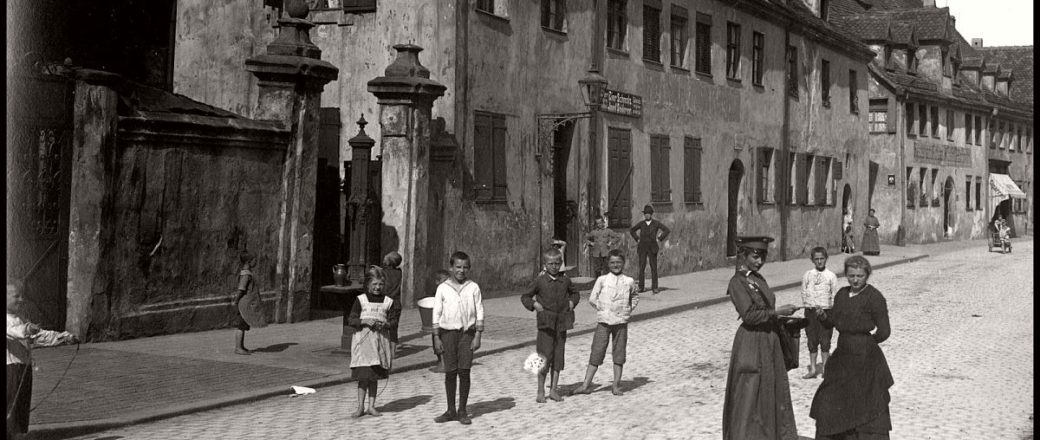 Vintage: Everyday Life and Street Scenes of Nuremberg (1910s)