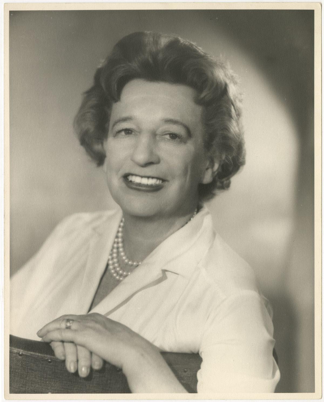 Photo: Editta Sherman (1912–2013); Lillian Hellman; 1961. Gelatin silver print. New-York Historical Society; Gift of Kenneth Sherman.