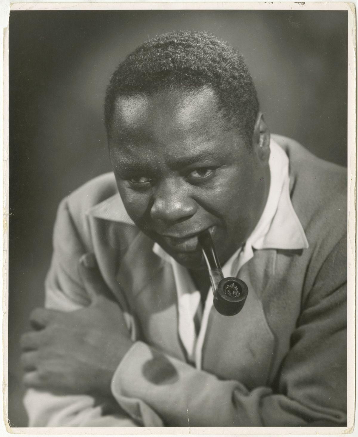 Photo: Editta Sherman (1912–2013); Canada Lee; ca.1948. Gelatin silver print. New-York Historical Society; Gift of Kenneth Sherman.