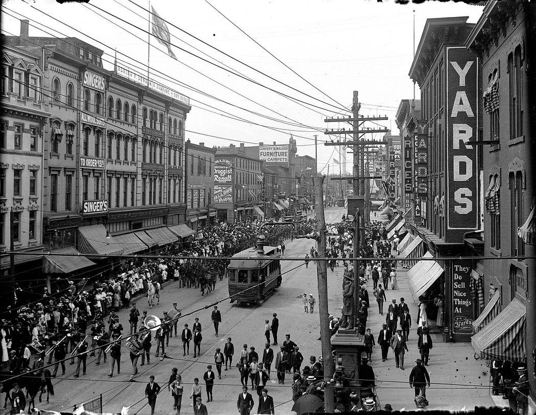 Parade in Trenton, NJ, 1912