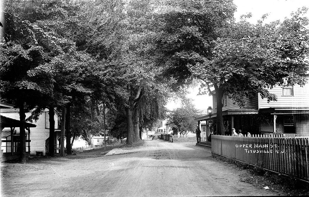 Upper Main Street, Titusville, NJ, 1912