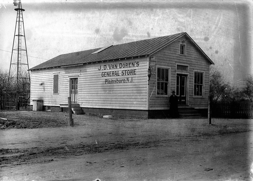 Van Doren's General Store, Plainsboro, NJ, 1912