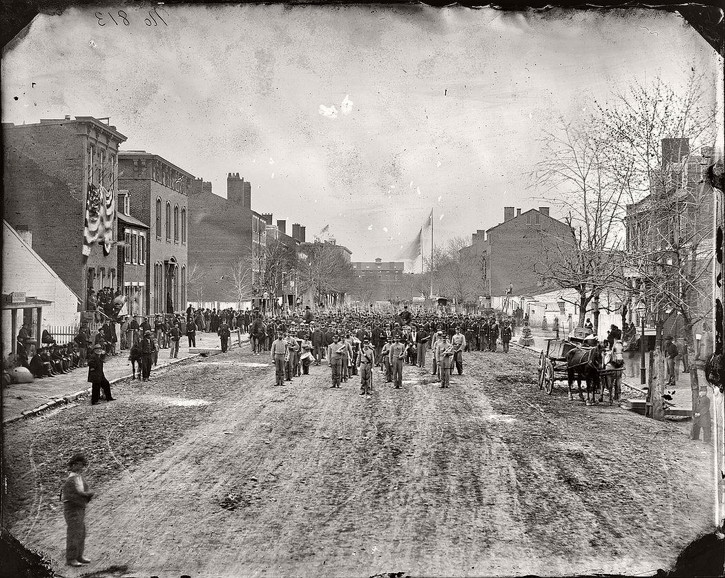 U.S. volunteer infantry in Washington, D.C, March 1865