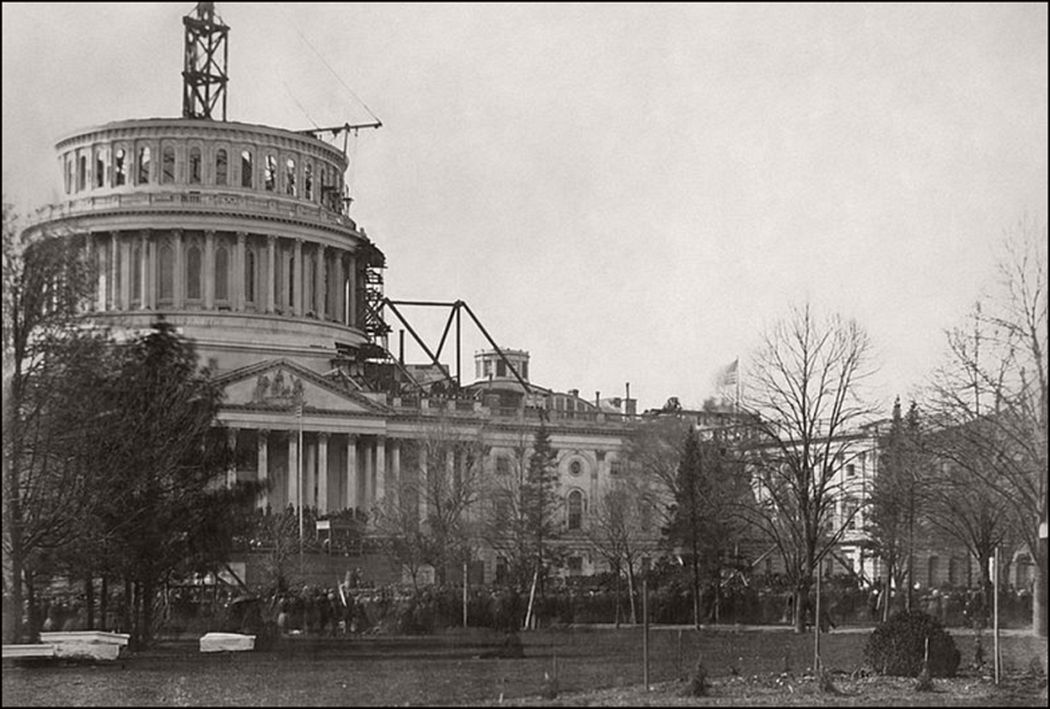 The Capitol in 1861
