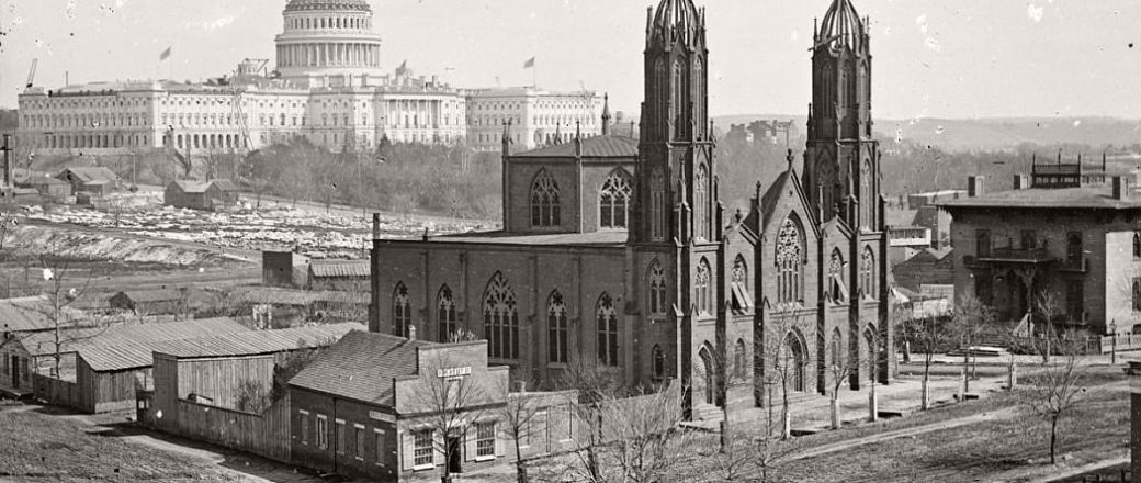 Vintage: Washington DC in the mid-19th Century (1840s-1860s)