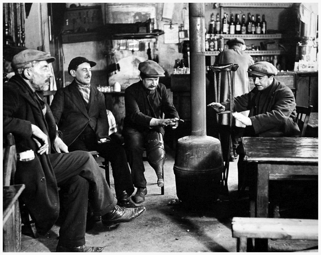 In a Bistro, Paris, 1927