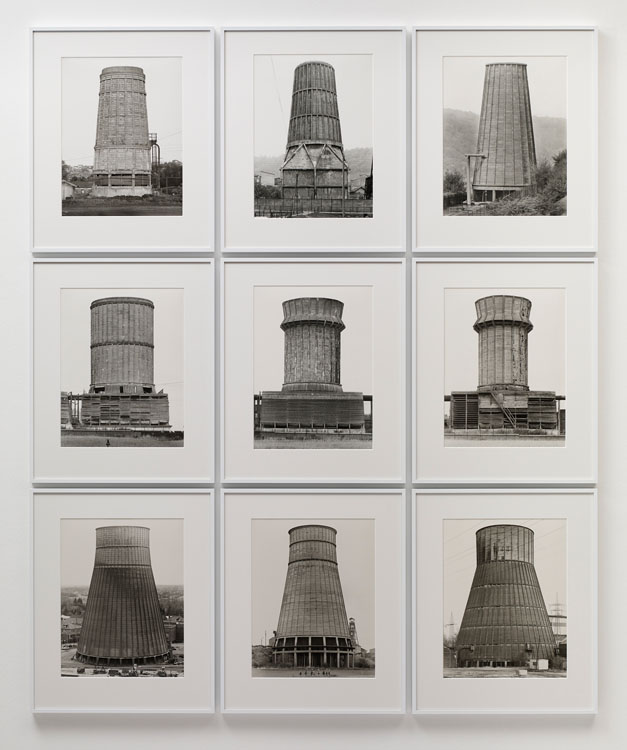 Bernd & Hilla Becher, Cooling Towers, 1967-1984, Sprüth Magers