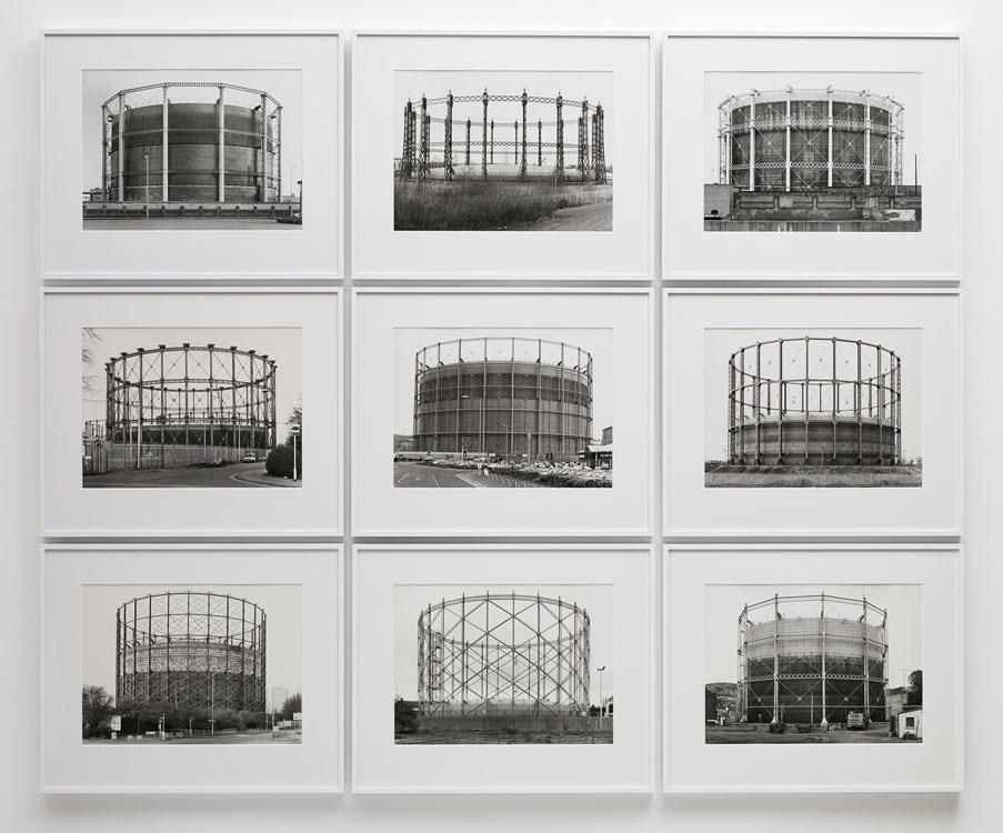 Bernd & Hilla Becher, Gas Tanks, 1973-2009, Sprüth Magers