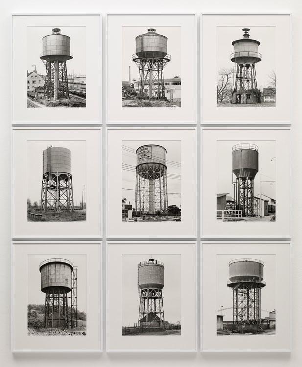 Bernd & Hilla Becher, Water Towers, 1969-1993, Sprüth Magers
