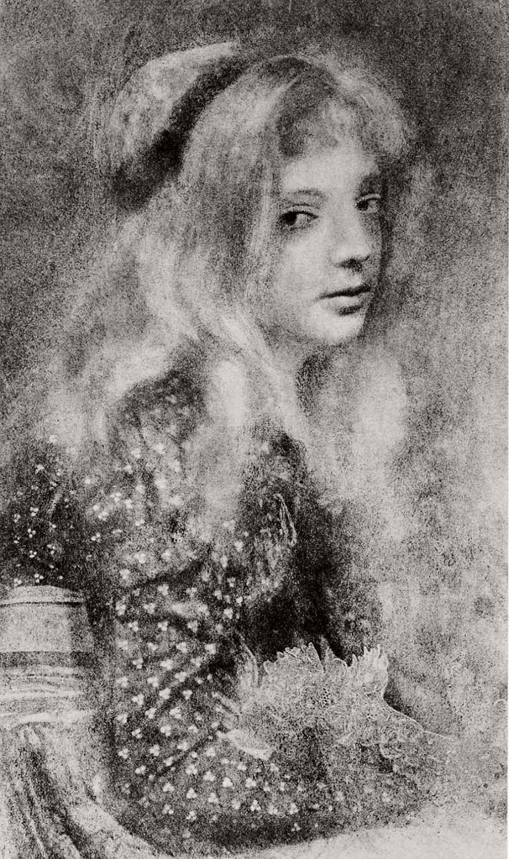Vintage: Gum Bichromate Process by Robert Demachy (late 19th Century)
