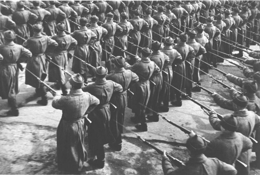 Georgy Zelma Red Army Parade, 1932